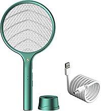 YaLuoUK Mosquito Killer Electric Tennis Bat Racket