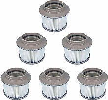 YanBan 6 Pack Replacement Hot Tub Filters for MSPA