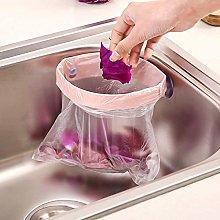 YancLife Sink Trash Bag Hanger, 2Pcs Garbage Bag