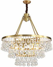Yangmanini 3-layer Crystal Ball Pendant Chandelier