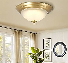 Yangmanini All-copper Ceiling Bedroom Lamp Retro