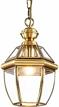 Yangmanini All Copper Lamp Chandelier Continental