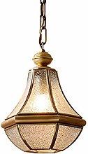 Yangmanini Country Pendant Lamp LED All Copper