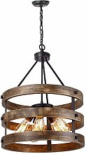 Yangmanini Retro Chandelier Industrial Style
