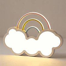 Yangmanini White Cloud Rainbow LED Ceiling Lamp
