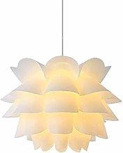 YANGQING Light Lamp Pendant Lamp White Lotus