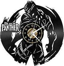 YANGSHUANG Vinyl Wall Clock Warrior Back View