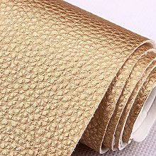 YANGUANG Vinyl Leatherette Faux Leather Fabric,