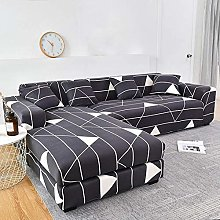 YANJHJY 1pcs Sofa Cover Geometric Couch Cover