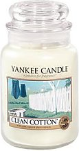 Yankee Candle Large Jar - Clean Cotton