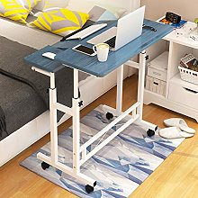 Yannn Rolling Laptop Table Lap Desk for Laptop