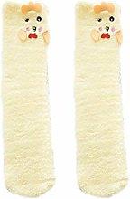 Yanqhua Fluffy socks Women Winter Fluffy Fuzzy