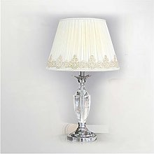 Yanqhua Table lamp Crystal table lamp bedroom desk