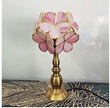 Yanqhua Table lamp Glass Lampshade Table Lamp