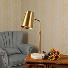 Yanqhua Table lamp Gold Desk Lamp with LED Bulb