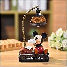 Yanqhua Table lamp LED Night Light Cartoon Desk
