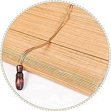 YAO XING Bamboo Roller Blinds Outdoors,Bamboo