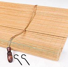 YAO YU Bamboo Blinds for Windows,Natural Bamboo