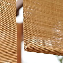 YAO YU Bamboo Blinds,Roll up Shades,Natural Bamboo