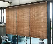 YAO YU Bamboo Roller Blinds for Windows,Outdoor