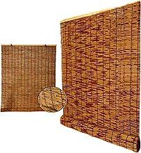 YAO YU Reed Curtain Natural Bamboo Roller