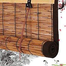 YAO YU Reed Curtain Retro Bamboo Roller