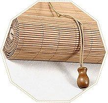 YAO YU Roller Blinds Bamboo Curtain,Natural Bamboo