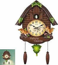 YAOBAO Cuckoo Clock Quartz Chalet-Style 24 Inch