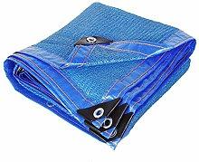 YAOJIA Shade Cloth-Sun Shade, 80% Blue 6 Stitches