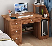 YAOJP Home Computer Desk, Writing Desk with