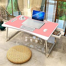 YAOJP Portable Laptop Lap Desk with Drawers Cup
