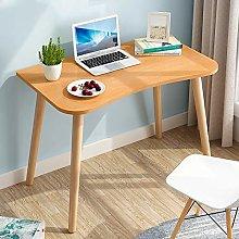 YAOJP Simple Computer Desk, Ergonomic Writing Desk