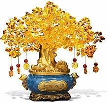 YAOLUU Desk decoration Feng Shui Natural Citrine