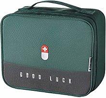 YAOLUU First Aid Container Bin Thickened Medicine
