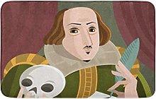 Yaoni Bath Mat Shakespeare English Best Writer