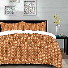 Yaoni bedding - Duvet Cover Set, Burnt