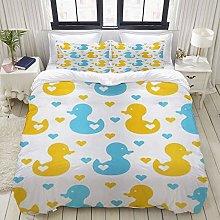 Yaoniii bedding - Duvet Cover Set, Rubber Duck