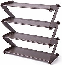 Yaootely Simple Steel Assembled Shoe Rack Save