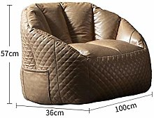yaowen Bean Bag Chair Adult Lazy Sofa Small