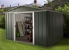 Yardmaster Deluxe Metal Shed with Support Frame -