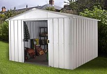 Yardmaster Metal Garden Shed - 10 x 8ft
