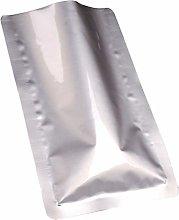Yardwe 100pcs Aluminum Foil Food Bags Mylar Pouch