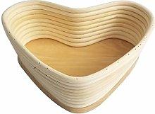 Yardwe 21.5x19cm Bread Banneton Proofing Basket