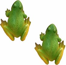 Yardwe 2pcs Frog Fridge Magnets Whiteboard Sticker
