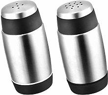 Yardwe 2pcs Stainless Steel Spice Shaker Seasoning