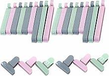 Yardwe 36pcs Sealing Clips Food Bag Clip Plastic