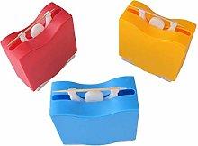 Yardwe 3Pcs Toothpick Can Box Liftable