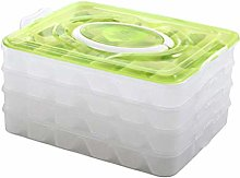 Yardwe 4 Layer Dumpling Food Containers