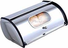 Yardwe Bread Storage Box Stainless Steel Bread