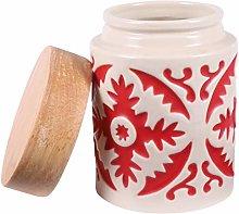Yardwe Ceramic Canister Coffee Tea Food Storage